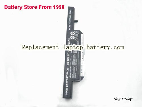 image 3 for Battery for CLEVO W258ES Laptop, buy CLEVO W258ES laptop battery here