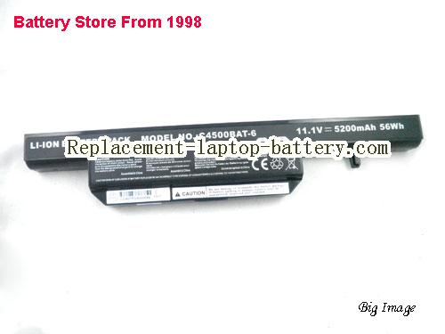 image 5 for Battery for CLEVO W258ES Laptop, buy CLEVO W258ES laptop battery here