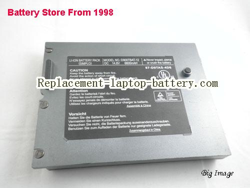 image 5 for D900TBAT-12, CLEVO D900TBAT-12 Battery In USA