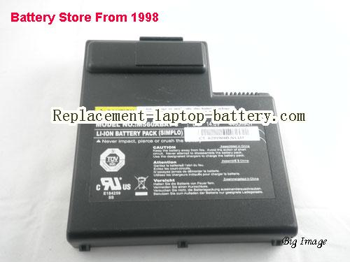 image 2 for Genuine M560BAT-8 M560ABAT-8 87-M56AS-4D4 Battery For Clevo M560 Series Laptop