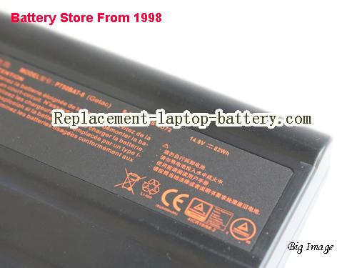 image 3 for Battery for CLEVO p770dm Laptop, buy CLEVO p770dm laptop battery here