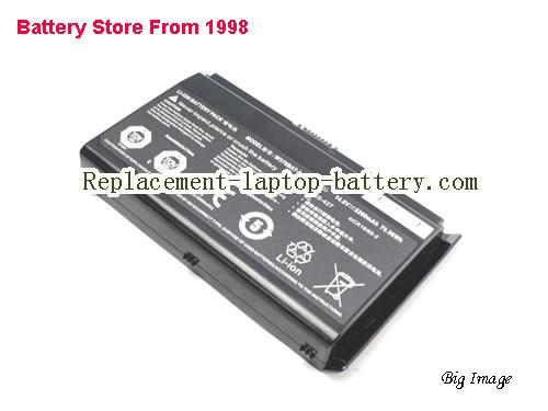 image 4 for Battery for CLEVO W350ETQ Laptop, buy CLEVO W350ETQ laptop battery here