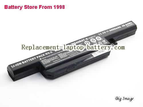 image 1 for Battery for CLEVO W551SU1 Laptop, buy CLEVO W551SU1 laptop battery here