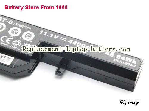 image 4 for Battery for CLEVO W551SU1 Laptop, buy CLEVO W551SU1 laptop battery here