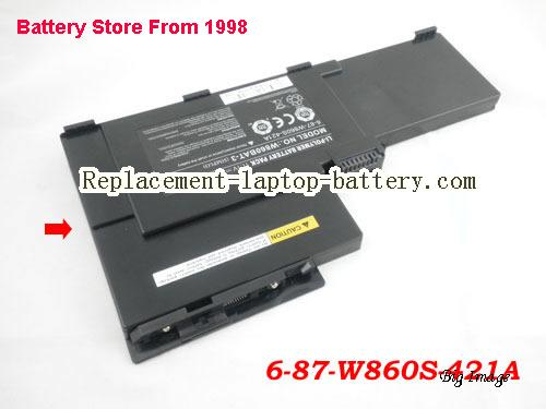 image 1 for Battery for CLEVO W860CU Laptop, buy CLEVO W860CU laptop battery here