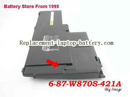 image 5 for Battery for CLEVO W860CU Laptop, buy CLEVO W860CU laptop battery here