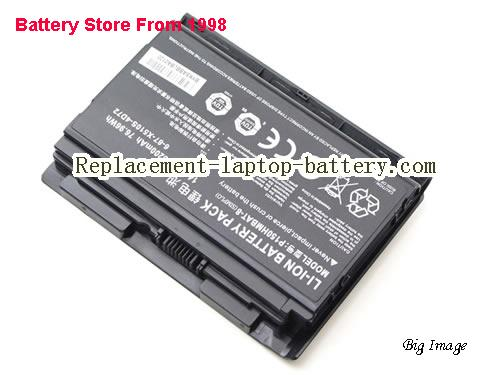 image 2 for 6-87-X510S-4j72, CLEVO 6-87-X510S-4j72 Battery In USA