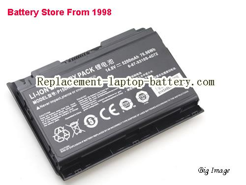 image 4 for 6-87-X510S-4j72, CLEVO 6-87-X510S-4j72 Battery In USA