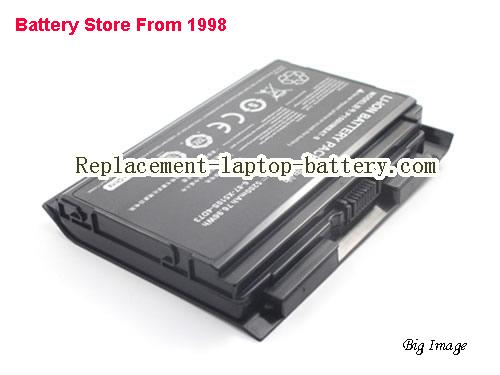 image 2 for 6-87-X510S-4D72, CLEVO 6-87-X510S-4D72 Battery In USA