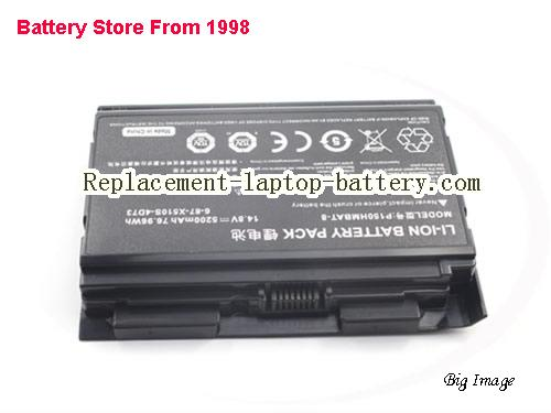 image 3 for 6-87-X510S-4D73, CLEVO 6-87-X510S-4D73 Battery In USA