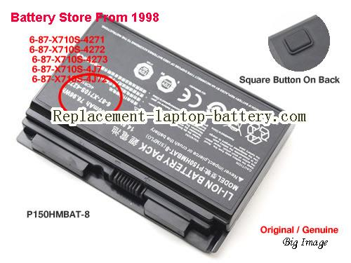 image 1 for 6-87-X710S-4271, CLEVO 6-87-X710S-4271 Battery In USA