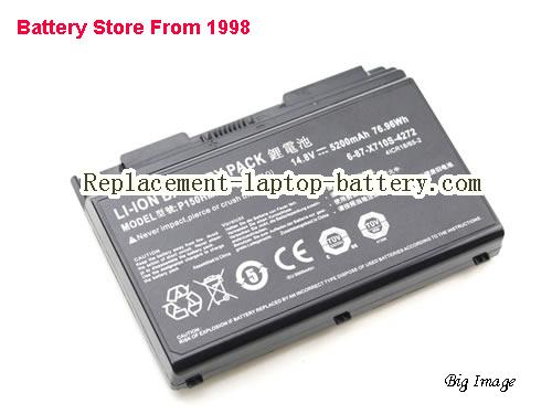 image 2 for 6-87-X710S-4271, CLEVO 6-87-X710S-4271 Battery In USA