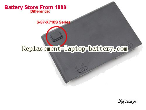image 3 for 6-87-X710S-4271, CLEVO 6-87-X710S-4271 Battery In USA