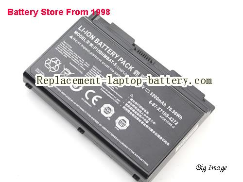 image 4 for 6-87-X710S-4271, CLEVO 6-87-X710S-4271 Battery In USA