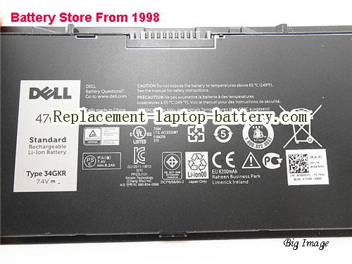 image 2 for Battery for DELL E7440 Laptop, buy DELL E7440 laptop battery here