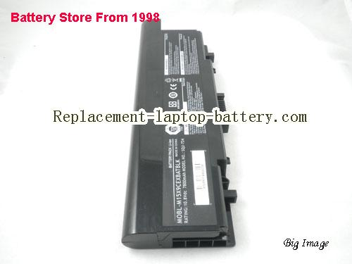 image 4 for Dell SQU-724, SQU-722, MOBL-M15X9CEXBATBLK, Alienware M15X Battery 9-Cell