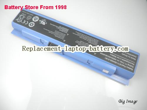 image 4 for Genuine Hasee,HAIER E11-3S4400-S1B1 laptop battery, Blue 6cells