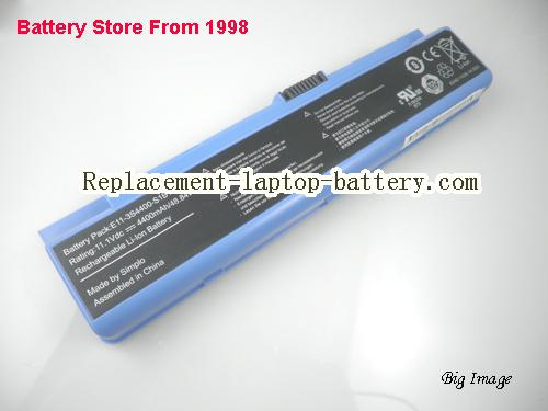 image 5 for Genuine Hasee,HAIER E11-3S4400-S1B1 laptop battery, Blue 6cells