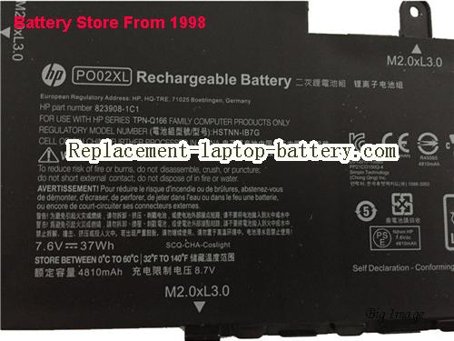 image 2 for HSTNN-IB7G, HP HSTNN-IB7G Battery In USA