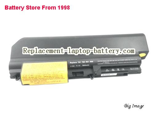 image 5 for Battery for IBM ThinkPad R400 7443 Laptop, buy IBM ThinkPad R400 7443 laptop battery here