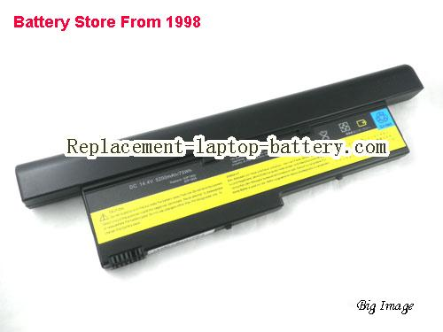 image 1 for IBM 92P0999 FRU 92P1002 FRU 92P1078 92P1145 FRU 92P1147 ThinkPad X40 X41 Series Replacement Laptop Battery