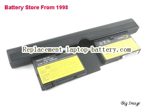 image 1 for IBM 73P5167 73P5168 FRU 92P1082 FRU 92P1084 ThinkPad X41 Tablet Series Replacement Laptop Battery