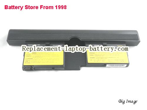 image 5 for IBM 73P5167 73P5168 FRU 92P1082 FRU 92P1084 ThinkPad X41 Tablet Series Replacement Laptop Battery