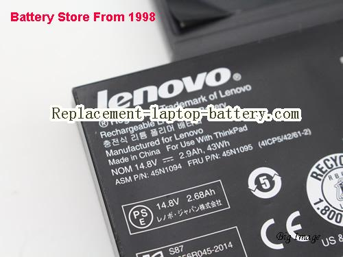 image 4 for Battery for LENOVO ThinkPad S230u Twist Laptop, buy LENOVO ThinkPad S230u Twist laptop battery here
