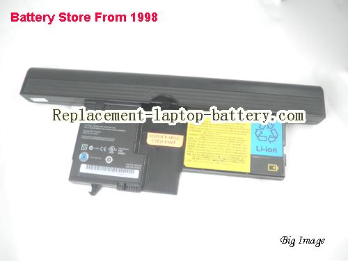 image 5 for LENOVO ASM 93P5032 42T5209 for ThinkPad X60 Tablet PC Laptop Battery 14.4V 4550mah