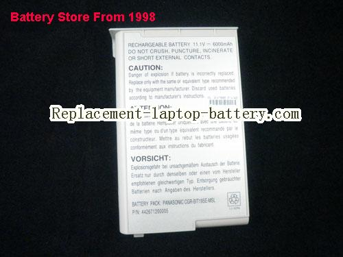 image 3 for Battery for ACCEL AccelNote 8170 Laptop, buy ACCEL AccelNote 8170 laptop battery here