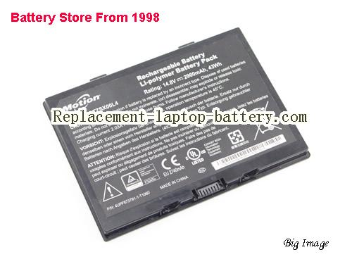image 1 for Battery for MOTION R12 tablet Laptop, buy MOTION R12 tablet laptop battery here