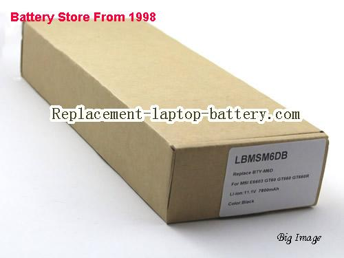 image 5 for BTY-M6D, MSI BTY-M6D Battery In USA