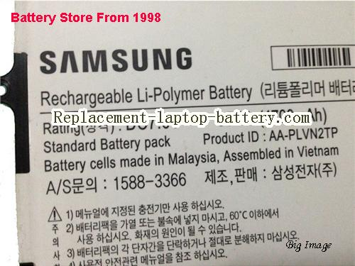 image 2 for AA-PLVN2TP, SAMSUNG AA-PLVN2TP Battery In USA