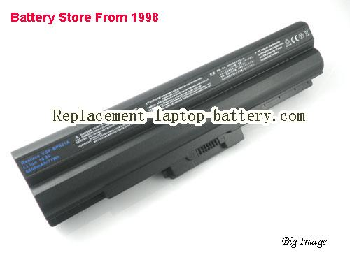 image 1 for Battery for SONY PCG-51111W Laptop, buy SONY PCG-51111W laptop battery here
