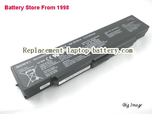 image 1 for Battery for SONY VAIO VGN-NR385 Laptop, buy SONY VAIO VGN-NR385 laptop battery here