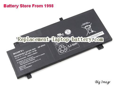image 1 for Battery for SONY SVF14A18SCB Laptop, buy SONY SVF14A18SCB laptop battery here