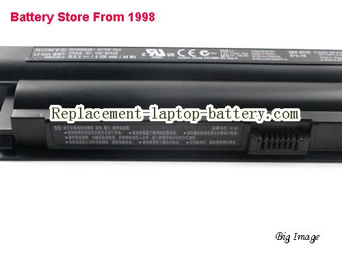 image 2 for Battery for SONY VAIO VPC-CA15FF/W Laptop, buy SONY VAIO VPC-CA15FF/W laptop battery here