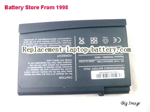 image 5 for Battery for TOSHIBA 3005-S303 Laptop, buy TOSHIBA 3005-S303 laptop battery here