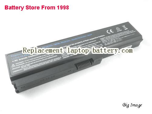 image 1 for Battery for TOSHIBA Dynabook Satellite U500 Laptop, buy TOSHIBA Dynabook Satellite U500 laptop battery here