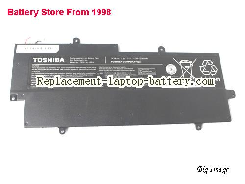 image 1 for Toshiba PA5013U-1BRS Battery for Ultrabook Z830 Z835, 47Wh