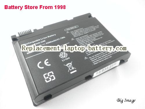 image 1 for U40-4S2200-C1L3, UNIWILL U40-4S2200-C1L3 Battery In USA