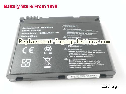 image 5 for U40-4S2200-C1L3, UNIWILL U40-4S2200-C1L3 Battery In USA